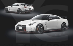 2008-2015 Nissan R35 GTR CBA DBA Nismo Style Wide Body Kit including Front Bumper & Diffuser, Side Skirts , Rear Bumper w/ Lip , GT Wing