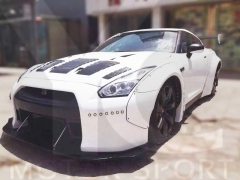 2008-2015 Nissan R35 GTR CBA DBA LB LP Style Wide Body Kit including Front Bumper & Diffuser, Whole Fender , Rear Spat , Rear Diffuser , GT Wing