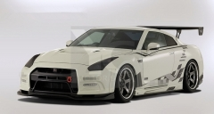 2008-2015 Nissan R35 GTR CBA DBA VS '13 Ver. Style Body Kit including Front Bumper & Lip , Front Fender Kit , Side Skirt , Rear Diffuser Kit