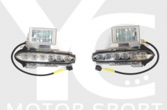 2008-2015 Nissan R35 GTR CBA DBA Genuine OEM DBA Front Bumper DRL Day Running Light LED Lamp Assy Headlight