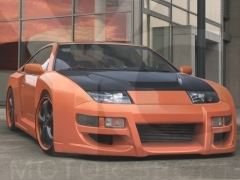 1989-2000 Nissan 300ZX Z32 IbherDesign VAPOR Wide Style Body Kit including Front Bumper w/ Grill, Front Fender, Side Skirt, Rear Fender, Rear Bumper