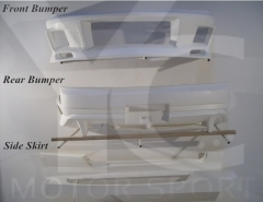 1995-1998 Nissan Skyline R33 GTST DL Style Body Kit including Front Bumper , Side Skirt , Rear Bumper Cover