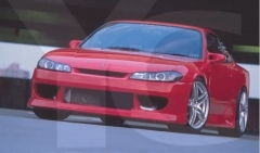 1999-2002 Nissan S15 Silvia VTX Style Body Kit including Front Bumper , Side Skirt , Rear Bumper Cover